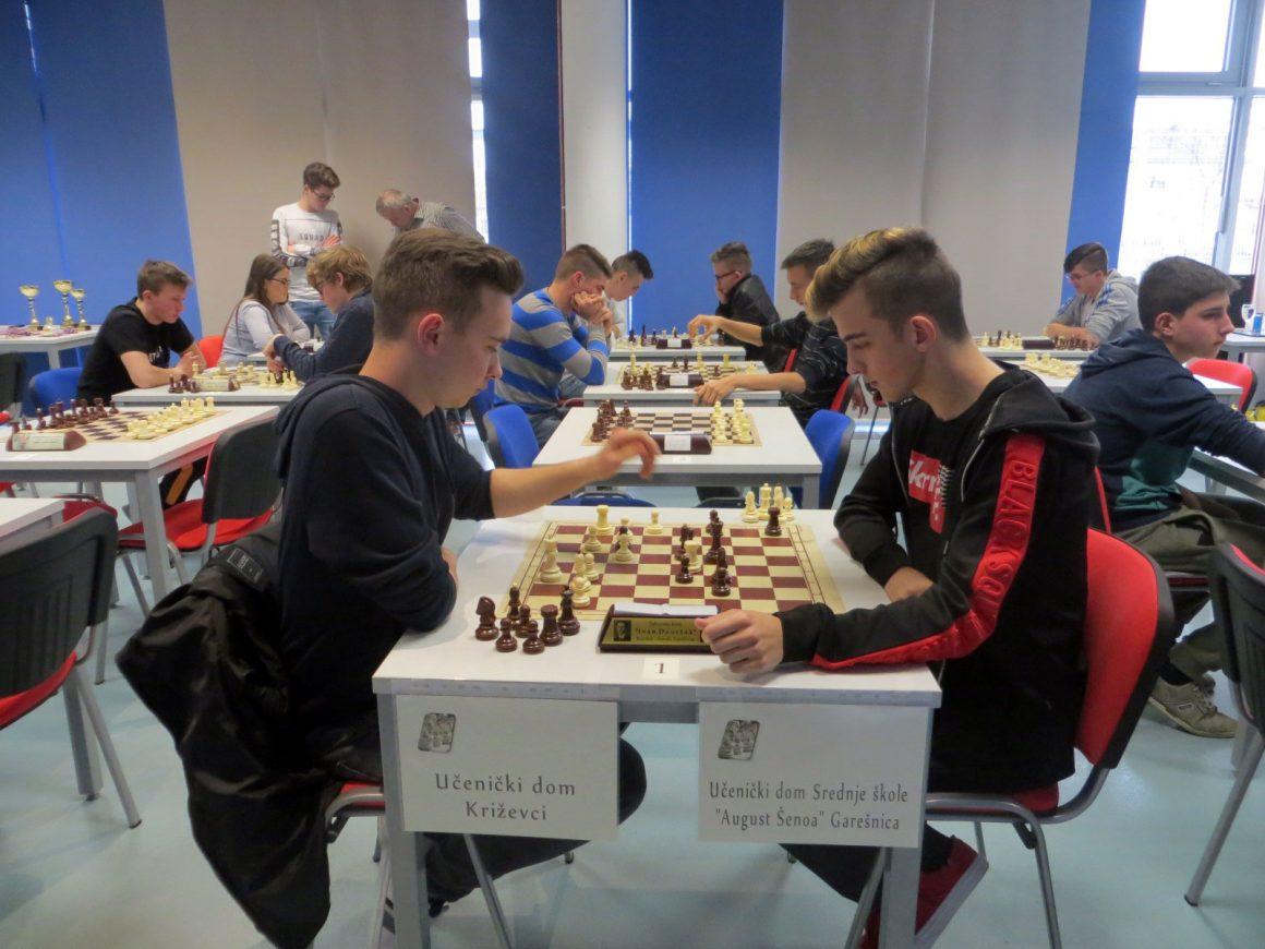 Šahovski turnir učeničkih domova