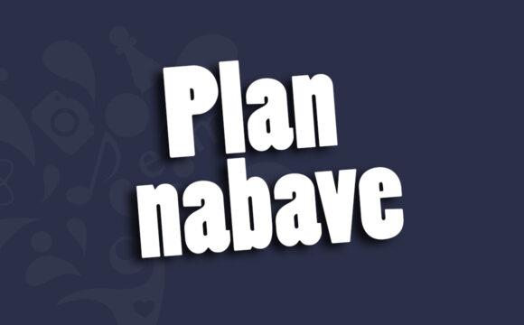 Plan nabave za 2021. godinu – I. izmjene i dopune
