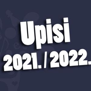 Obavijest učenicima prvih razreda koji su ostvarili pravo upisa u Dom učenika srednjih škola Bjelovar za školsku godinu 2021./2022.
